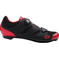 Giro Savix Road, Zapatos de Ciclismo de Carretera para Hombre, (Bright Red/Black 000), 44.5 EU