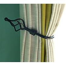 suchergebnis auf f r gardinen raffhalter metall schwarz. Black Bedroom Furniture Sets. Home Design Ideas