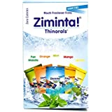 Ziminta Sugar Free Mouth Freshner 5 Flavour Diwali Gift Pack - Mint, Orange, Lemon, Mango, Pan Masala Flavoured - Easily Soluble Strips - (Pack of 10-2 of each flavor)