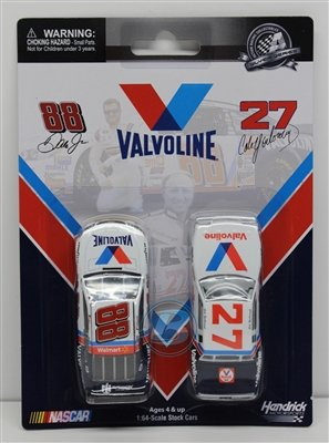 cale-yarborough-1982-valvoline-dale-earnhardt-jr-2015-valvoline-164-nascar-diecast-by-lionel-racing