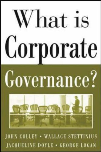 What Is Corporate Governance? (McGraw-Hill Executive MBA Series)