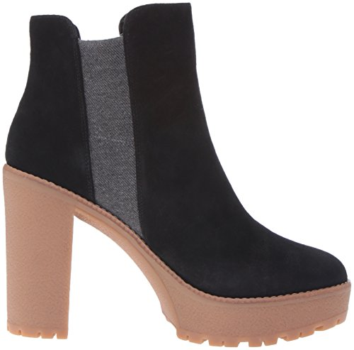 Nine West Womens idelle Boot Black/Grey