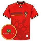 Belgien Home Trikot 2014 2015 Ink Gratis Brasilien Druck - L