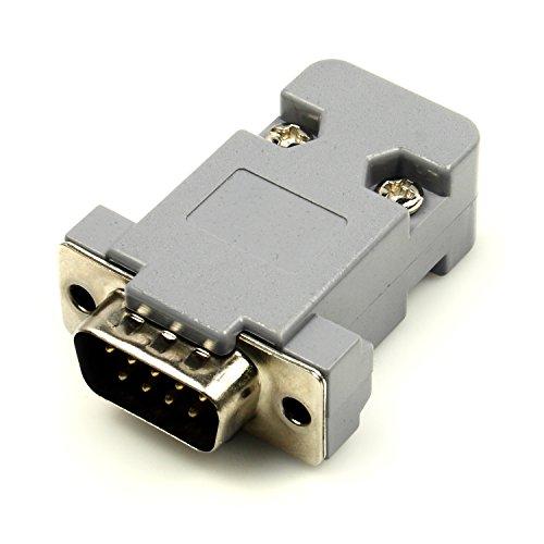 Ultra compacto RS232A TTL convertidor con macho DB9y capucha Kit (3,3V a 5V)