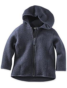 hessnatur Baby Baby/Kleinkind Wolljacke Wollfleece Jacke mit Kapuze - 100% Bio Merinowolle - unifarben unisex...