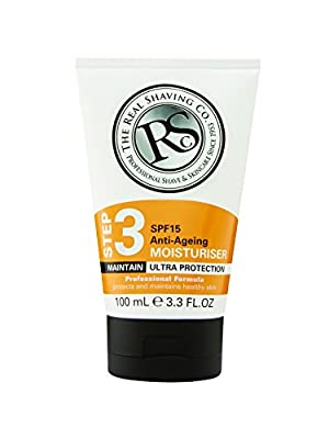 The Real Shaving Company Step 3 SPF 15 Anti-Ageing Moisturiser 100 ml from Swallowfield plc