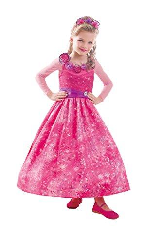 Barbie™ Kostüm für Mädchen - 3-5 (Kinder Für Barbie Popstar Kostüm)