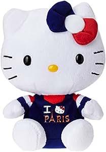 Ty - TY46244 - Hello Kitty - Peluche I Love Paris 15 cm