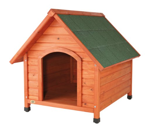 Artikelbild: Trixie 39532 natura Hundehütte Cottage, mit Satteldach, M–L: 83 × 87 × 101 cm