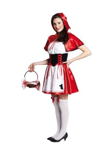 Rubie's 1 3619 38 - Rotkäppchen Kostüm, 2-teilig, Größe 38