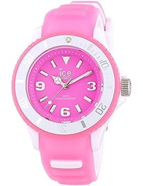 Ice-Watch Unisex-Armbanduhr Ice-Glow Analog Quarz Silikon GL.PK.S.S.14