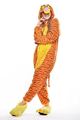 Hause Zu Für Kostüm Ideen Erwachsene (Kigurumi - Pyjamas Unisex Erwachsene Cosplay Kostüm Tier Pyjamas (S,)