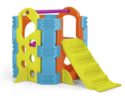 FEBER Famosa 800009597 - Activity Park - Aktivitätszentrum mit Spielzeugrutsche, für Kinder von 2 bis 7 Jahren