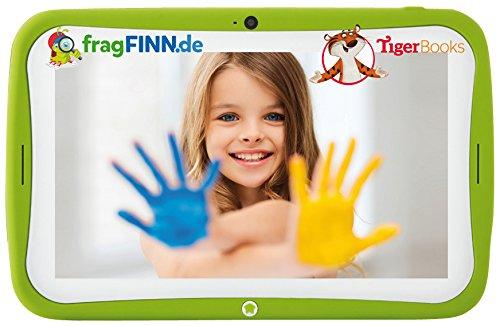"""Blaupunkt 4Kids²  - Tablet für Kinder 17,8 cm (7""""), Android 5.1, 16 GB interner Speicher, Bluetooth 4.0, 2 MP Front- / 2 MP Rückkamera, kindgerechte Schutzhülle, Elternmodus, grün"""