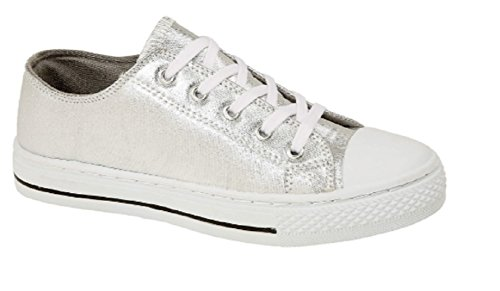 Shoes Silver Pink Metallic