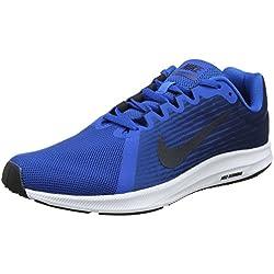 Nike Downshifter 8, Zapatillas de Running para Hombre, Azul (Blue Nebula/Dark Obsidian-Navy-White 401), 42.5 EU