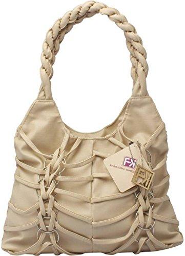 SKNOOR Women's Handbag (White)