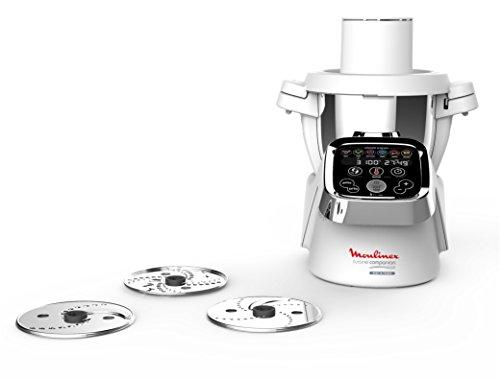 Moulinex Découpe-Légumes XF383110 Accessoire Companion Officiel Râpe Tranche Compatible avec Tous les Robots Cuisine Companion