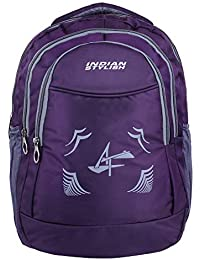 e1e639b805 INDIAN STYLISH Polyester 28Ltrs Purple with Laptop Casual Backpack   School  Bag for Boy s and Girl s