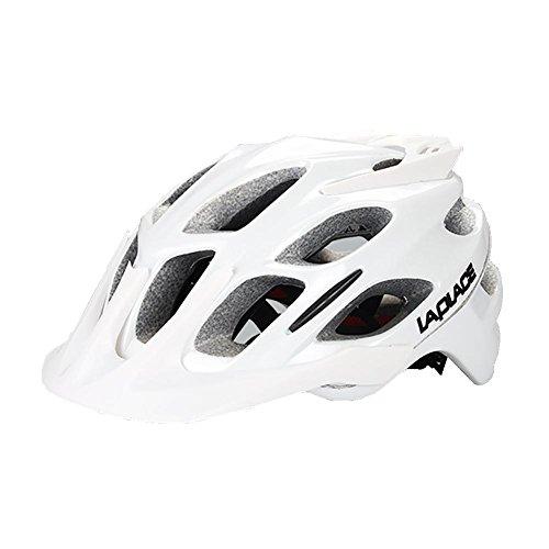 MIAO Fahrradhelm - Outdoor insgesamt Sicherheit Junge und Mädchen Mountainbike Rennrad Fahrradhelm , white