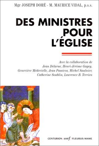 Des ministres pour l'Eglise par Joseph Doré