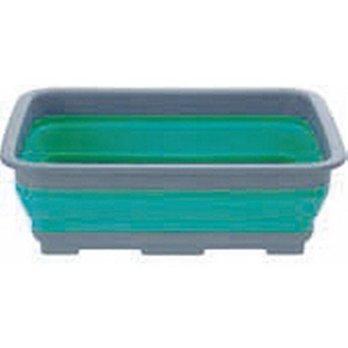 Camp 4 zusammenfaltbare Schüssel / Waschschüssel (Einheitsgröße) (Blau) (Camp Vier Herren)