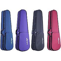 Muzip étui basique pour violon taille complète 4/4,haute qualité Disponible en 4 couleurs. 4/4 Full size bleu