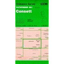 Consett (Pathfinder Maps)
