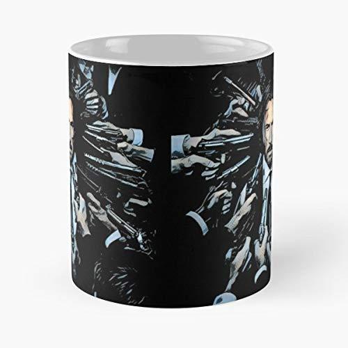 Extra Wick (John Wick Keanu Reeves Action Movie Gangs Guns Violence Dog Puppy - Bestes 11 Unze-Keramik-Kaffeetasse Geschenk)