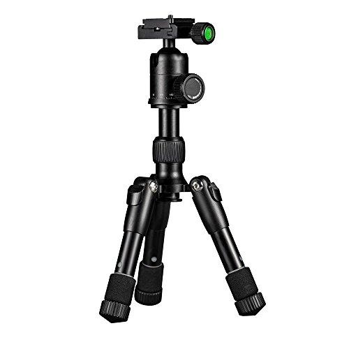 Mini-Faltstativ-Portable-Verstellbar-mit-Kugelkopf-fr-Canon-Nikon-DSLR-Kamera
