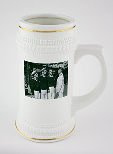 beer-mug-with-golden-rim-of-a-scene-from-the-film-kadettkamrater-cadet-comrades-with-ake-saderblom-a