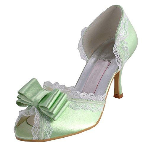 Kevin Fashion , Chaussures de mariage tendance femme Vert - vert