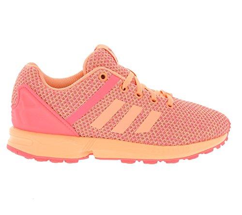 adidas Unisex, bambini Zx Flux Split K scarpe sportive Salmone