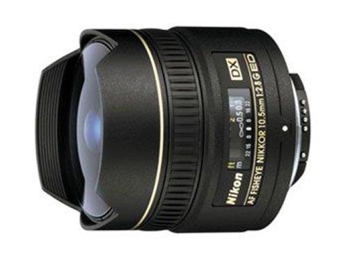 Nikon Objektiv Fisheye (Nikon AF G DX 10,5/2,8 FISHEYE Objektiv)