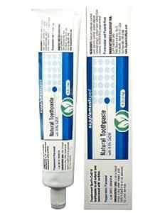 Dentifrice naturel avec 0,5% de Co Q10 est tout naturel et sucré avec du sorbitol