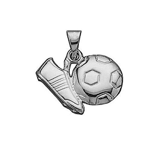 hänger Fußball Schuh Sterling-Silber 925 ()