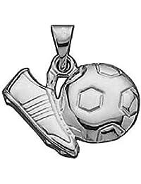 So Chic Joyas - Colgante Futbol Balón Botines Plata 925