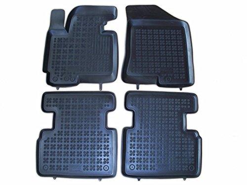 Rezaw - Plast 201012 Negro Alfombras de goma, Premium alfombrillas de goma , borde 3 centímetros