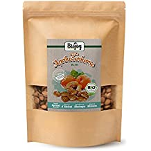 Biojoy Semillas de albaricoque dulces BIO | Semillas enteras de calidad alta | Semillas de albaricoque bío alternativa a las almendras | naturales y no procesadas | sin aditivos, calidad bío (1 kg)