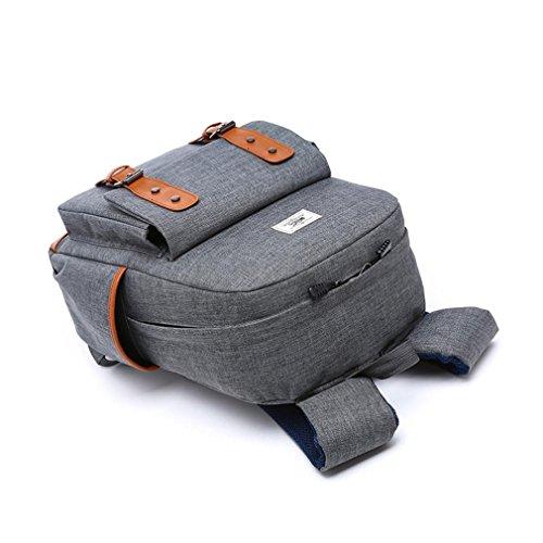 F@Männliche und weibliche Studenten Taschen, Taschen-Computer casual Schultertasche Rucksack neuen Mode-Trend treasure blue