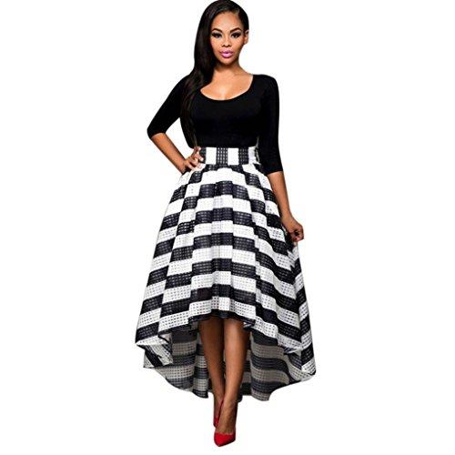 NPRADLA 2018 Frauen Lange Formale AbschlussballKleidParteiBallkleidAbend Brautkleid