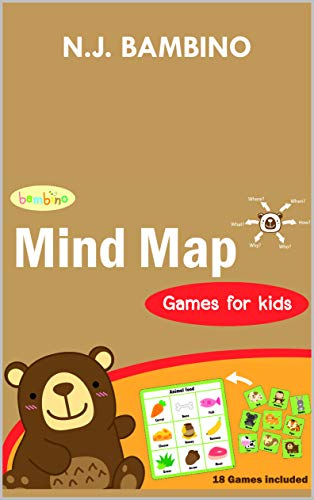 BAMBINO - Mind map games for kids: Age 2-6, Included 18 basic knowledge for kids, Board game, Logic puzzles (Starter series Book 12) (English Edition) - Serie Logic Board
