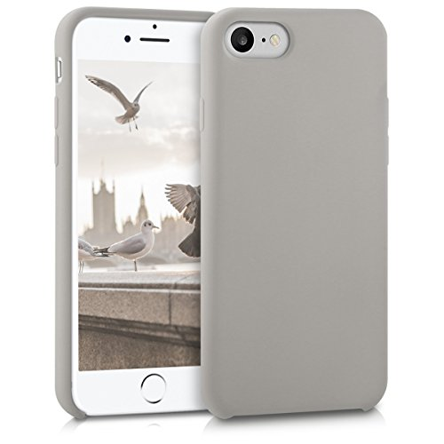 kwmobile Apple iPhone 7/8 Hülle - Handyhülle für Apple iPhone 7/8 - Handy Case in Taupe