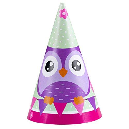 Amscan Eulen Papier Party Hüte