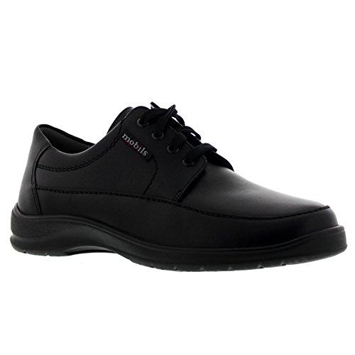 Mephisto Ezard Schw 9000, Chaussures de ville à lacets pour homme - noir - Schwarz, 42 EU