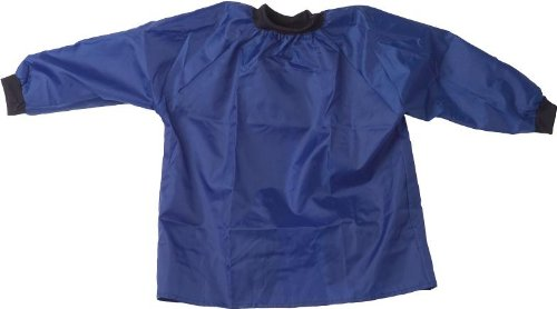 blouse-en-nylon-pour-enfant-taille-104-128-bleu