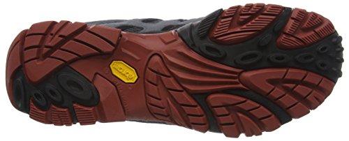 Merrell Moab Mid Gore-Tex, Scarpe da Arrampicata Uomo Multicolore (Castle Rock/Black)