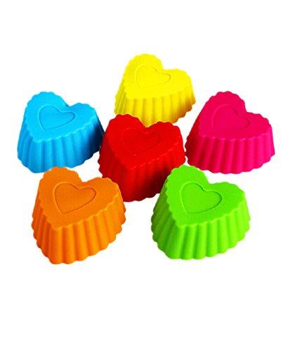 DAYAN Piccolo colorato silicone bakeware della torta del silicone numero