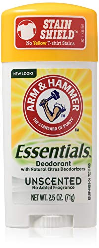 Arm & Hammer Arm & Hammer Essentials Natural Deodorant Solid Unscented 2.5 Ounce