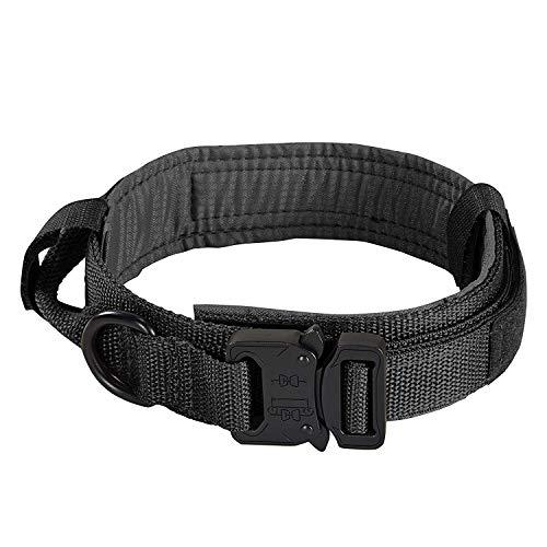 Petcomer Collar Perro Ajustable Entrenamiento Militar